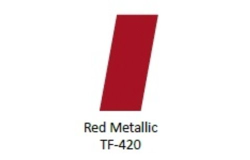 No Label Transfer Foil TF-420 Red Metallic