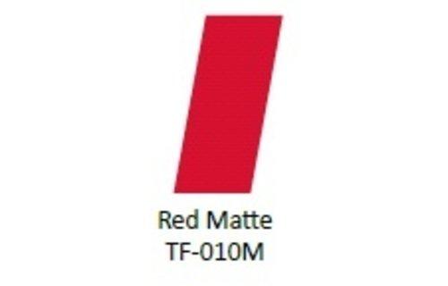 No Label Transfer Foil TF-010M Rood Mat