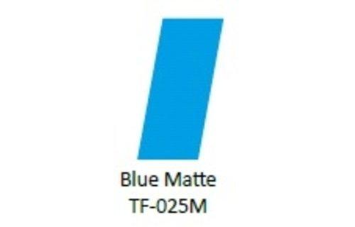 No Label Transfer Foil TF-025M Blue Mat