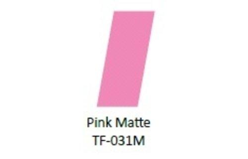No Label Transfer Foil TF-031M Roze Mat