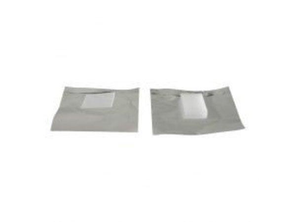 Foil Nail Wrap Gel 100pcs