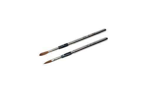 No Label Acrylic Brush Retractable # 18