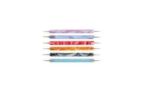No Label Twirl Pen Pink