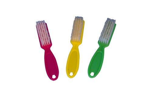 No Label Manicureborstel Plastic (met steel)