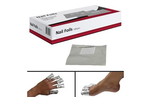No Label Nail Foils IBP 500 pcs