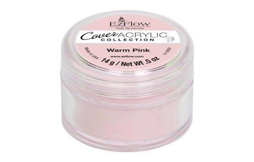 Ez Flow Cover Acrylic Powder Warm Pink