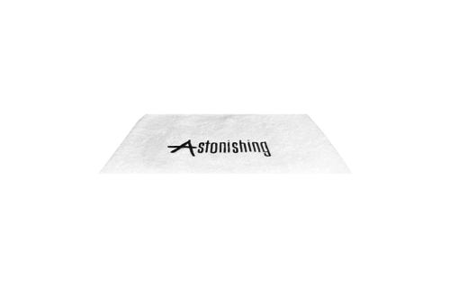 Astonishing  Witte handdoek met  Astonishing Logo