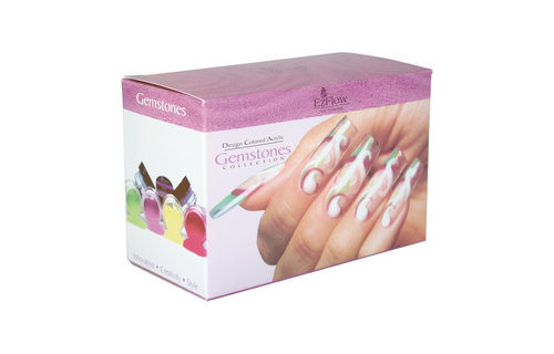Ez Flow Gemstones Design Color Acryl Kit