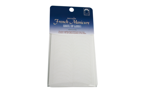 No Label French Manicure Tip Guide