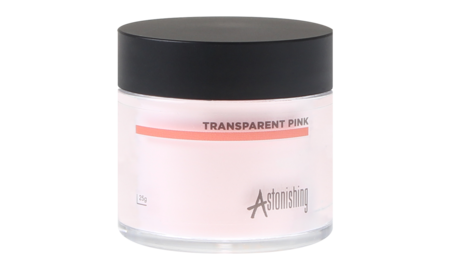 Astonishing  Acrylic  powder Transparent Pink