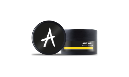 Astonishing  Art Gel #002 White