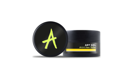 Astonishing  Art Gel #004 Neon Yellow