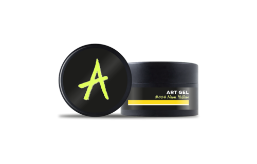 Astonishing  Art Gel #004 Neon Geel