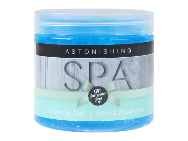 Pedicure Cooling Gel - Mint and Eucalyptus 60ml