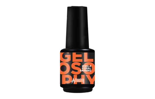 Gelosophy Gelpolish Summer #1Q2.4 Coral Sarong 15ml