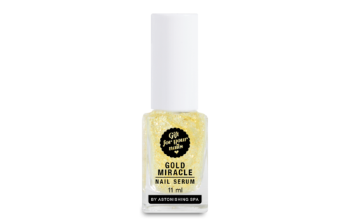 Astonishing Spa Gold Miracle Nail Serum 11ml