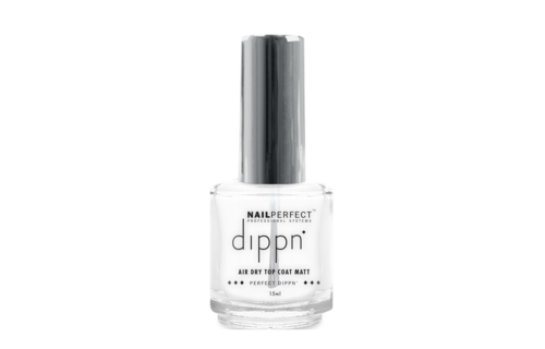 NailPerfect Dippn Air Dry Top Coat Matt 15ml