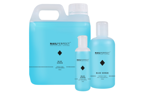 NailPerfect Blue Scrub