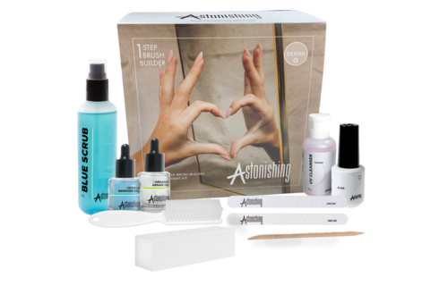 Astonishing  1 Step Brush Builder Start Up Kit