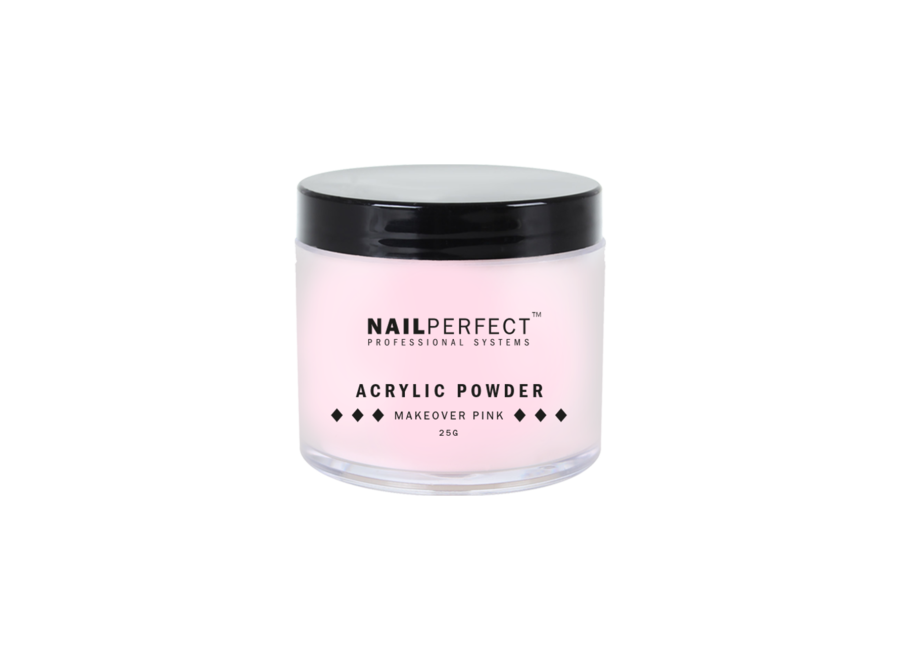 Acrylic Powder Makeover Pink