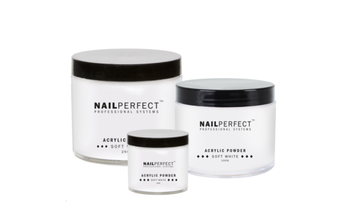 NailPerfect Acryl Poeder Soft White
