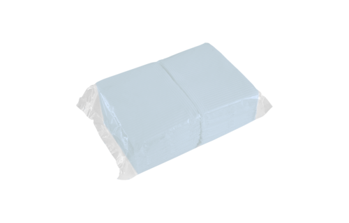 No Label Table Towels (blue) 50 stuks