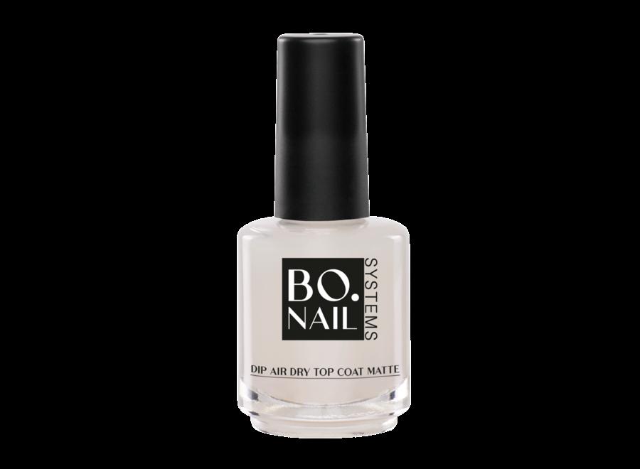 BO. Dip Air Dry Top Coat Matte (15ml)