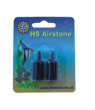 HS AQUA LUCHTSTEEN CILINDER ZWART 15 MM 2 ST/BLISTER AC-15-2