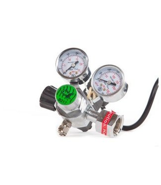 HS AQUA CO2 PRESSURE REGULATOR WITH SOLENOID VALVE