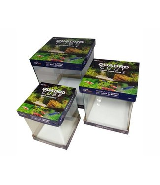 HS AQUA AQUARIUM VOLGLAS QUADRO CUBE SET NO. 1,2,3