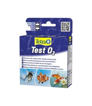TETRA TEST O2 (ZUURSTOF) VOOR 30 TESTS