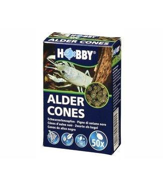 HOBBY ALDER CONES 50 ST (ZWARTE ELS KEGELS)