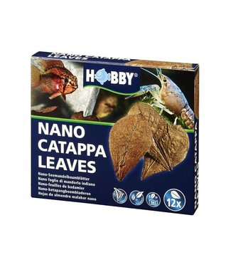 HOBBY NANO CATAPPA LEAVES 12 ST