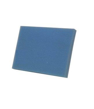 FILTERMAT BLAUW MID.GROF T20  100X100X10 CM