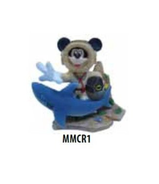PENN PLAX MICKEY MOUSE WITH TREASURE CHEST MMCR1