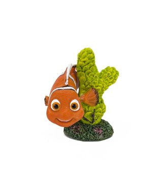 PENN PLAX FINDING DORY NEMO WITH GREEN CORAL MINI FDR39