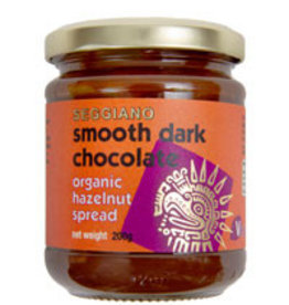 Seggiano A325 Organic Smooth Dark Hazelnut Spread