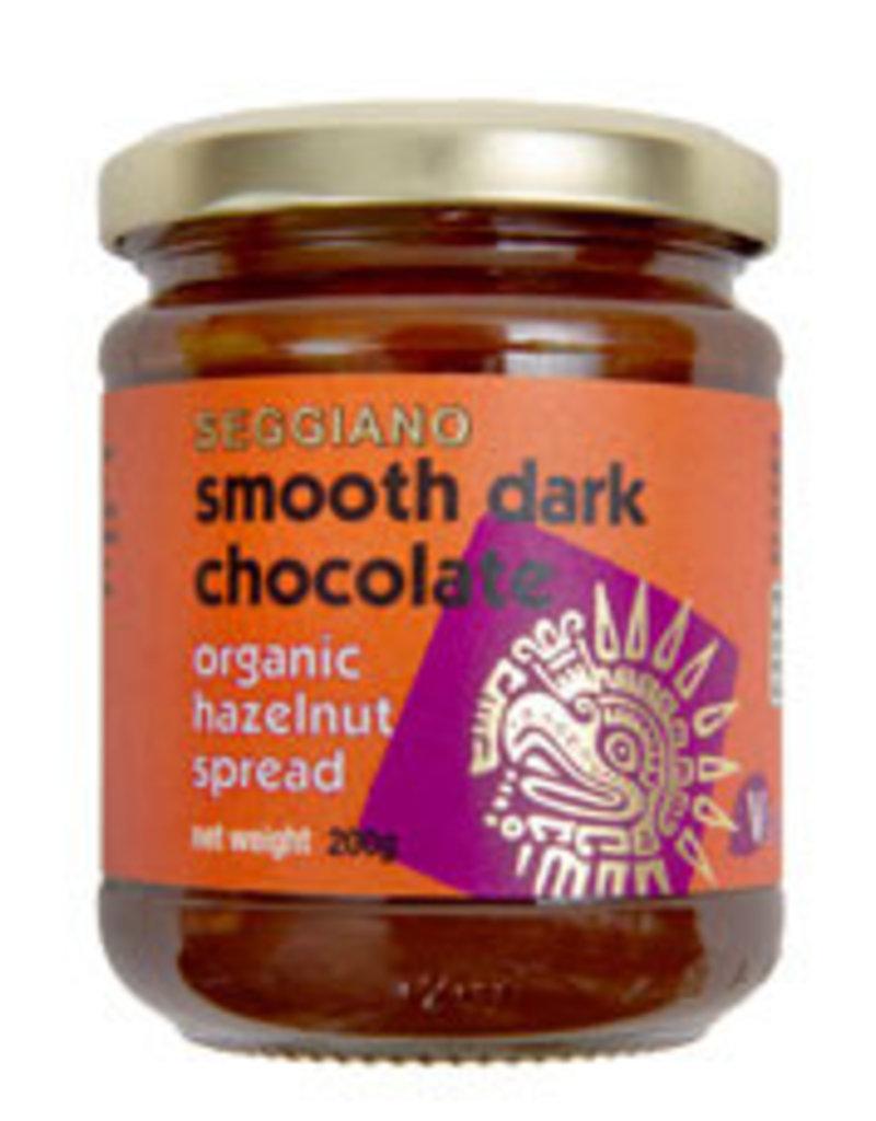 Seggiano S325 Organic Smooth Dark Hazelnut Spread