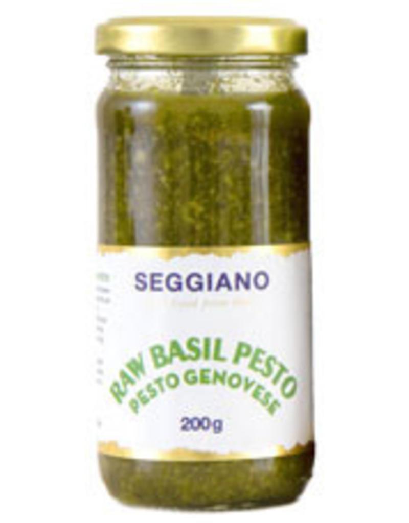 Seggiano S289 Raw Basil Pesto Genovese 200 gr per 12