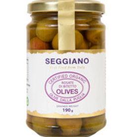Seggiano A288 Organic Rosate de Bitetto Olives