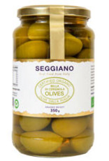 Seggiano A287 Organic Bella di Cerignola Olives