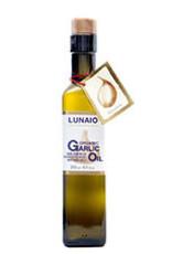 Lunaio S199 Organic Extra Virgin Olive Oil + Garlic 250 ml per 6