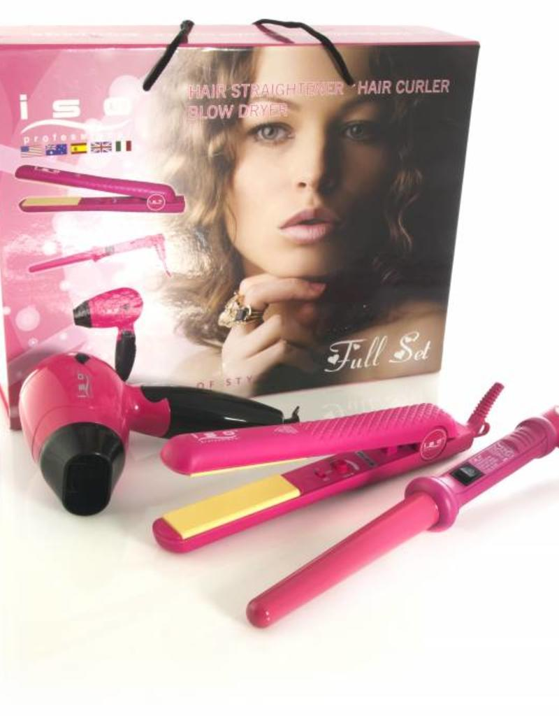 ISO Professional Full Set Pink