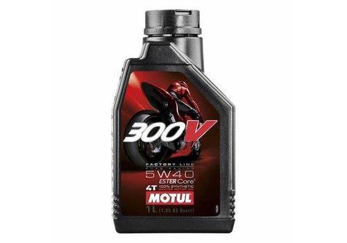 Motul 300V 4-takt 5W40 motorolie 1 liter