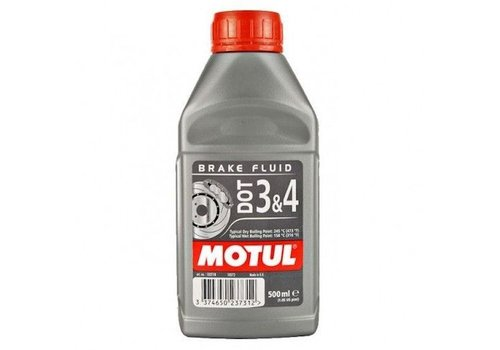 Motul DOT 3 & 4 remvloeistof 500 ml
