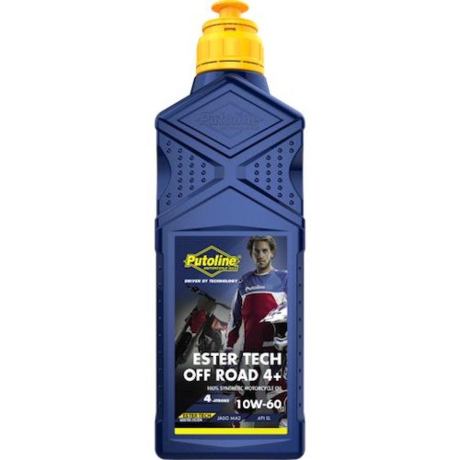 Putoline Ester Tech 4+ 10W-60 motorolie 1 liter