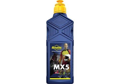 Putoline MX 5 mengsmering 1 liter