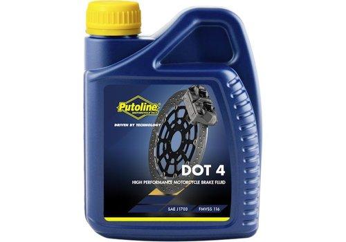 Putoline DOT 4 remvloeistof 500 ml
