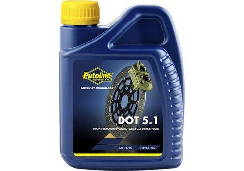Putoline DOT 5.1 remvloeistof 500 ml