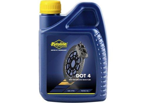 Putoline DOT 4 remvloeistof 1 liter